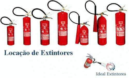 Locação de extintores de incêndio