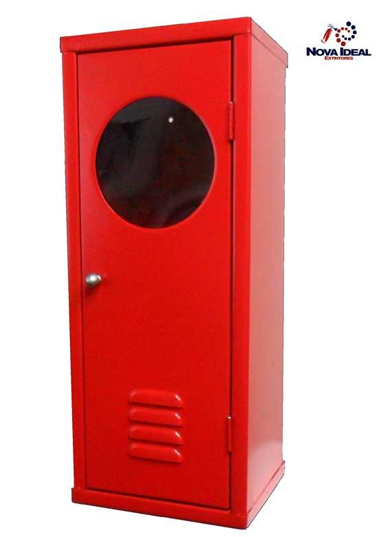 Abrigo de Extintores Chapa de Aço