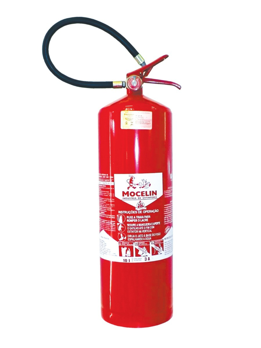 Extintor de Agua Pressurizada